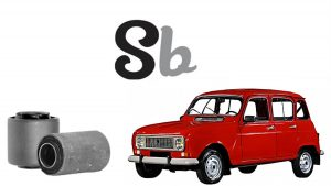 Bujes tijeras Renault 4